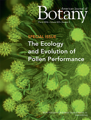 Botany Magazine Cover