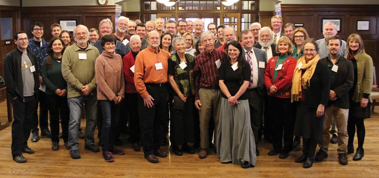 More than 40 guests attended the Etnier Ichthyology Endowment reception.